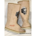 BOTTES FOURREES MARILYN MONROE - MARRON