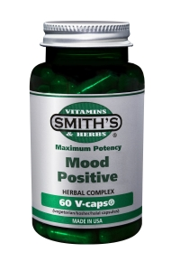 Smith's Vitamins - MOOD POSITIVE.