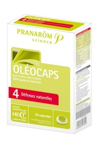 Pranarom - OLEOCAPS 4 - DEFENSES NATURELLES30 Capsules