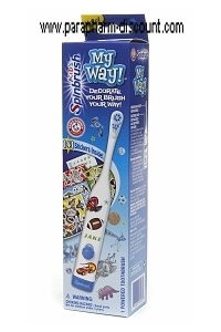 Spinbrush - MY WAY- BROSSE A DENTS A PILES  - BLEUE -