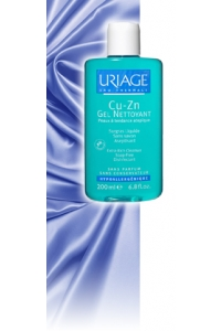 Uriage - CU-ZN GEL NETTOYANTFlacon 200 ml