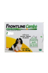 Biocanina - FRONTLINE Combo - Spot-on chien S - 6 pipettes -