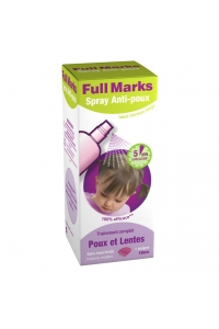 Reckitt Benckiser - FULL MARKS SPRAY ANTI POUX + PEIGNE 15ml