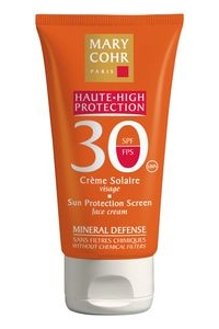 Mary Cohr - CREME SOLAIRE VISAGE SPF 30 - 50ml