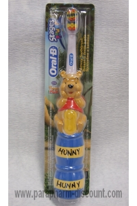 Oral-B - BROSSE A DENTS ELECTRIQUE ENFANT - WALT DISNEY - WINNIE L'OURSON