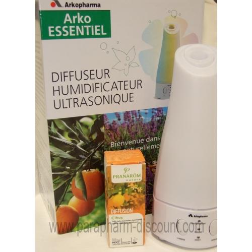 Diffuseur humidificateur ultrasonique plus1 huile - Diffuseur huiles essentielles pranarom ...