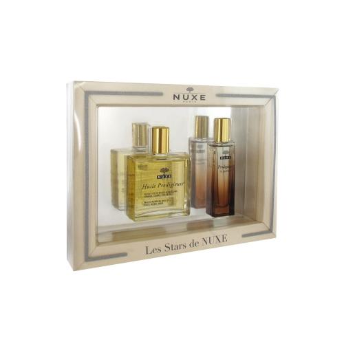 coffret les stars de nuxe huile prodigieuse plus le parfum prodigieux parapharmacie. Black Bedroom Furniture Sets. Home Design Ideas
